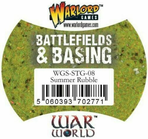 Summer Rubble Flock New Warlord Games Battlefields /& Basing