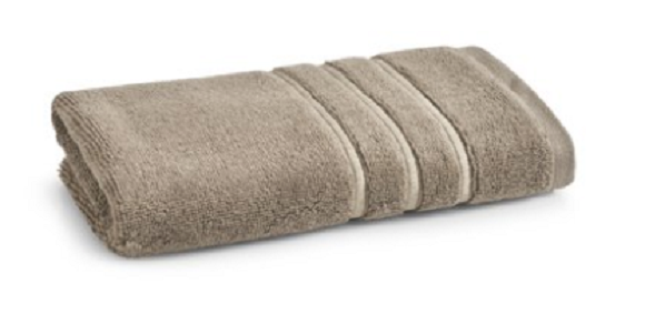 HAND TOWEL HOTEL STYLES EGYPTIAN COTTON BATH COLLECTION TAUPE