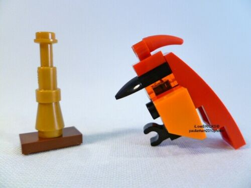 LEGO FAWKES THE PHOENIX FIGURE FREE STAND FROM HARRY POTTER 75954 EXCLUSIVE