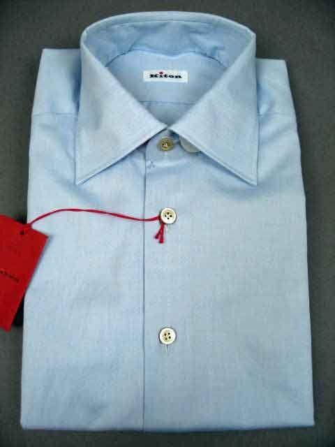 New Kiton Light bluee Twill Cotton Dress Shirt (DS-7222)