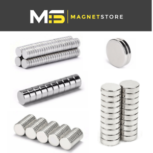 Big-amp-small-magnets-neodymium-disc-2mm-3mm-4mm-5mm-6mm-10mm-strong-craft-magnet