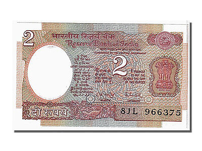 Unc Km #79h 966375 Buy Now India 2 Rupees 1976 65-70 #104689