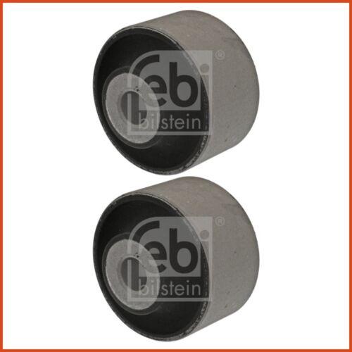 2 x FEBI Bras De Suspension Stock prise stockage set avant double face haut 3843806
