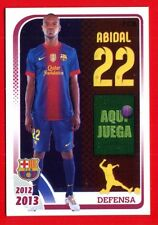FC BARCELONA 2012-2013 Panini - Figurina-Sticker n. 79 - ABIDAL -New