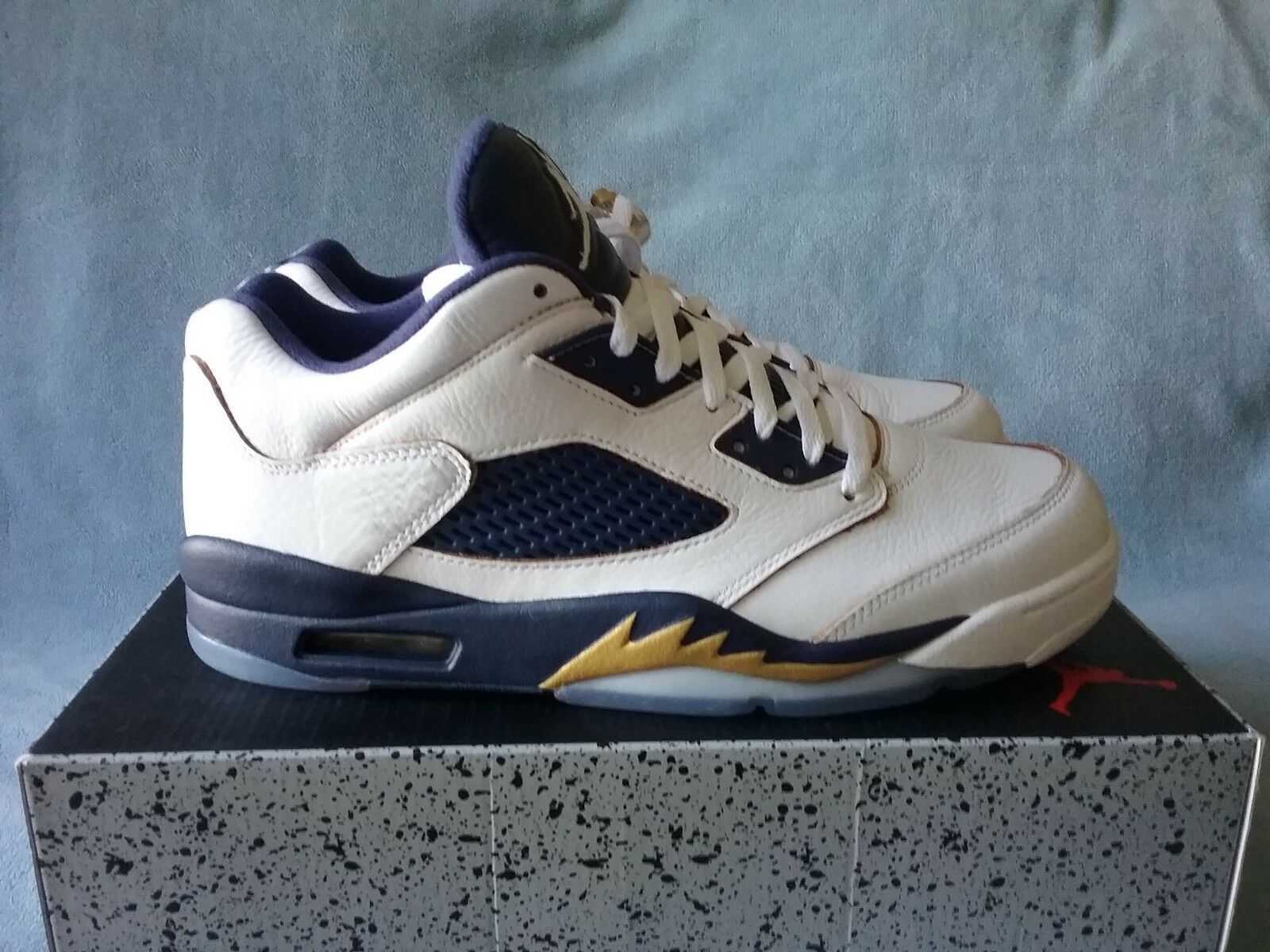 hot sale online ab416 df612 Size 12 Men's Air Jordan Retro 5 Low Dunk From Above 819171 135