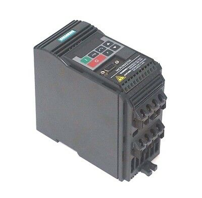 Geschickt Gebraucht Siemens 6se9212-1ca40 Micromaster Drive 6se92121ca40 Mit Einem LangjäHrigen Ruf Automation, Antriebe & Motoren Ac-umrichter