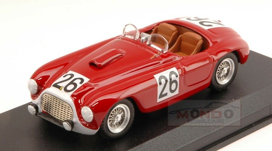 Ferrari 166 Mm  26 49Th Le Mans 1950 P.Rubirose-P.Leygonie 1 43 Art Model ART286