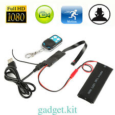 1080P HD DIY Module Spy Hidden MINI DV DVR Video Camera Motion+Remote Control
