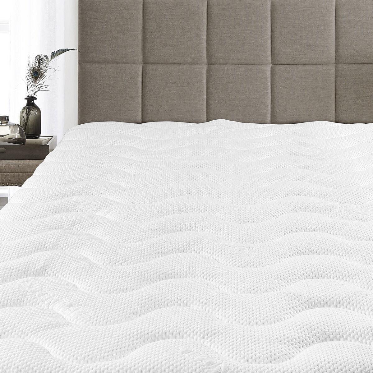 Super Soft Waterproof Lyocell from Eucalyptus Tencel Jacquard Mattress Pad