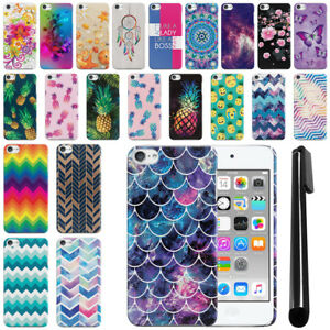 For-Apple-iPod-Touch-6-6th-5th-7-7th-Gen-2019-Slim-HARD-Back-Case-Cover-Pen