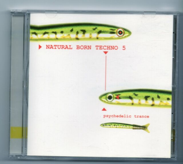 (JG779) Natural Born Techno 5, 7 tracks various artists - 1997 CD