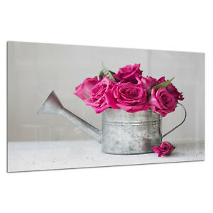 IndéPendant Trempé Esg Verre Imprimé Photo Wall Art Photo Rose Vintage Chic Prizma Gwa0346-afficher Le Titre D'origine