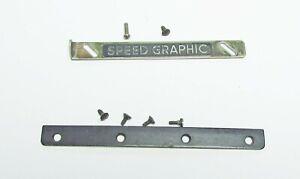 Graflex-Speed-Graphic-Lens-board-RETAINING-bars-RAILS-FOR-4X5-Anniversary