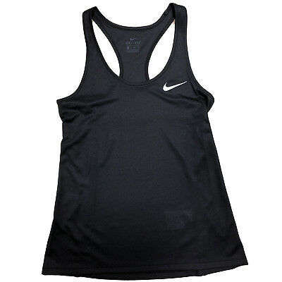 Nike Women/'s Breathe Rapid Black Running Tank Top NWT AJ0880-010 Size XS