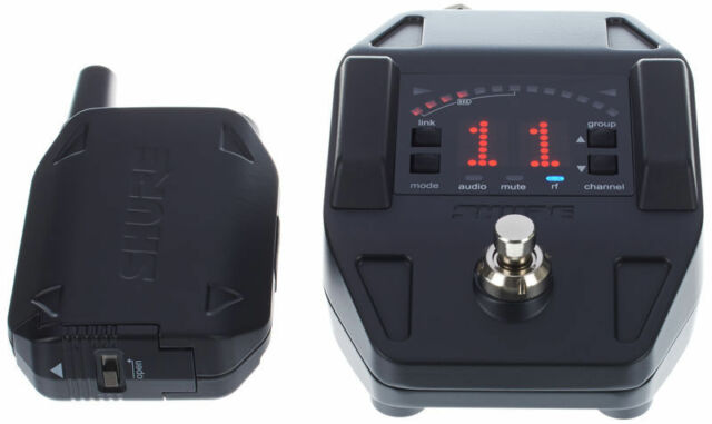 Shure GLX-D 16 Digital Wireless Guitar Pedal System