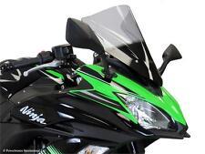 Kawasaki Ninja 650 2017 Airflow Windshield Shield Grey - Powerbronze PB