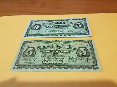 2 Chile Notes One Is Xf Other Is Fine With Hand Wrinting?