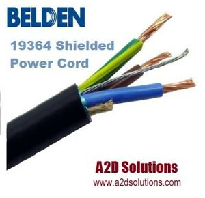 Image Is Loading Belden 19364 Rf Shielded Power Cable 250 Ft