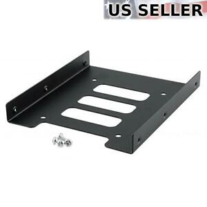 """2.5"""" to 3.5"""" Bay SSD Metal Hard Drive HDD Mounting Bracket Adapter Dock / Tray"""