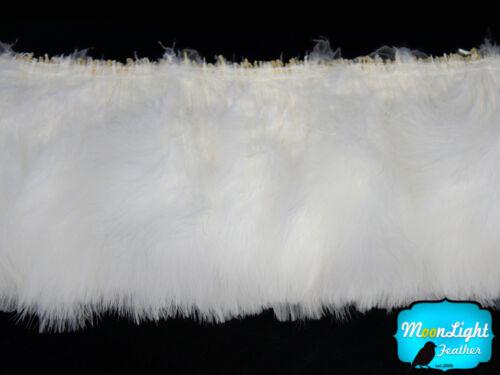 SNOW WHITE Marabou Turkey Fluff Wholesale Feathers 1//2 lb