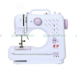 Multifunction Electric Overlock Sewing Machine Household Sewing Machine 100-240V