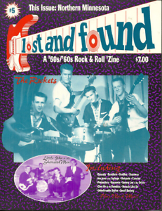 Details about LOST AND FOUND #5 - Dec 1997 - 1950s & 1960s GARAGE BANDS OF  NORTHERN MINNESOTA