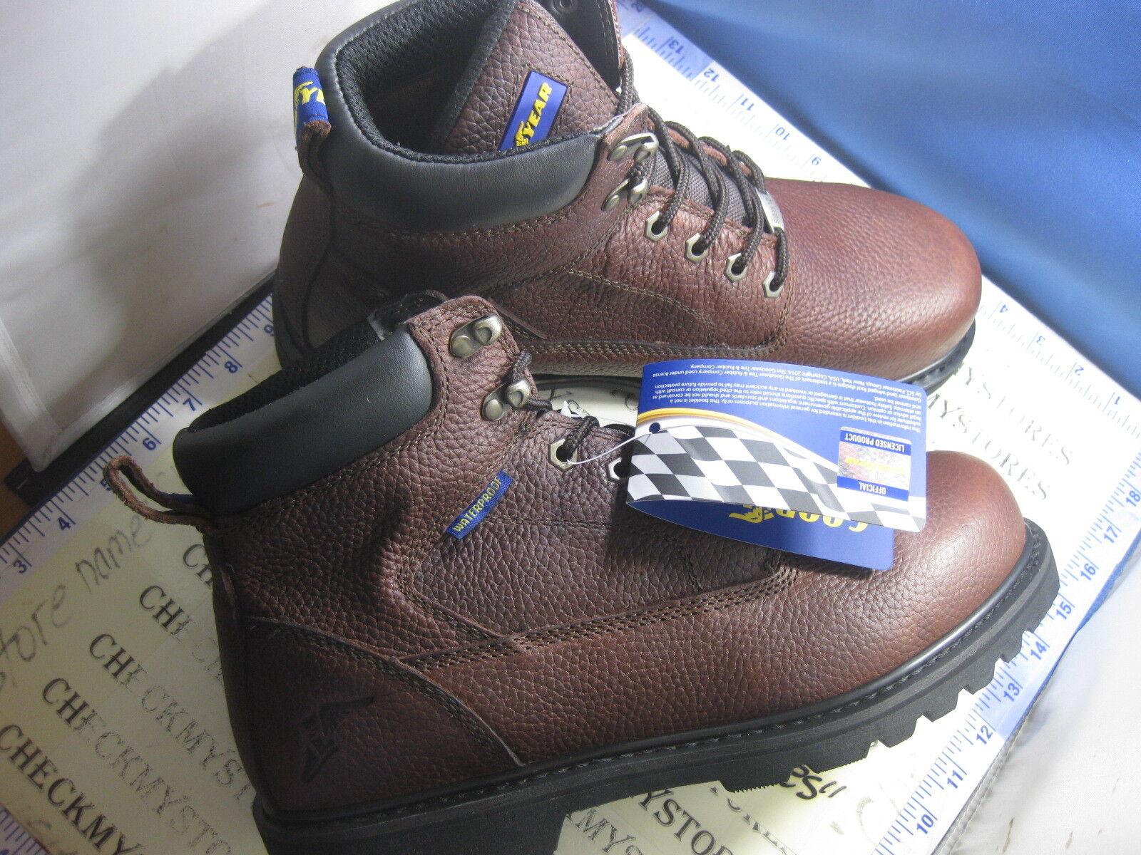 Nuevo Nuevo En Caja bueno 6  botas De Trabajo Seguridad EH Year Toe Impermeable GY6363 tracción