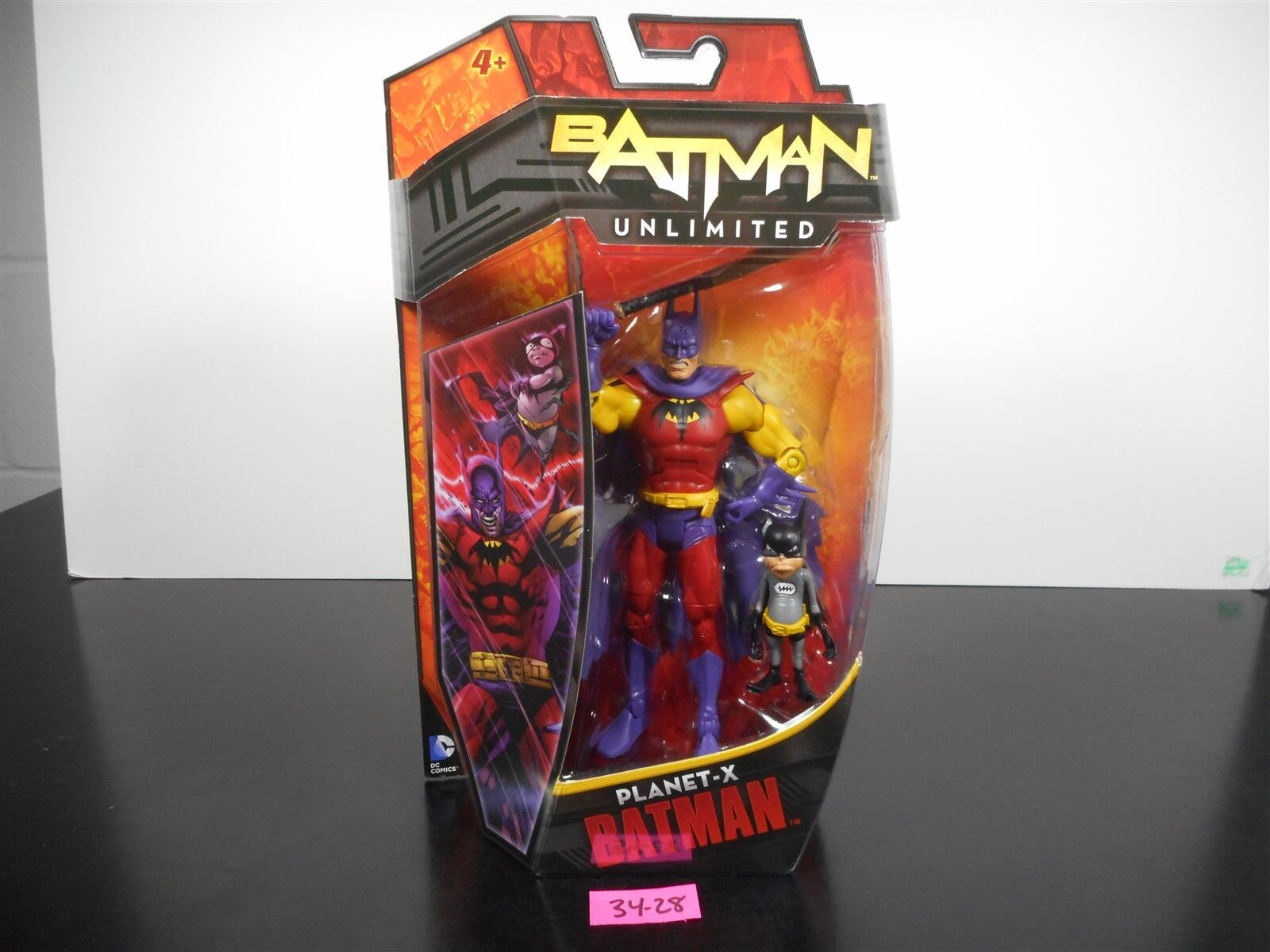 MINT & SEALED    DC COMICS BATMAN UNLIMITED PLANET-X BATMAN 6  FIGURE 34-28