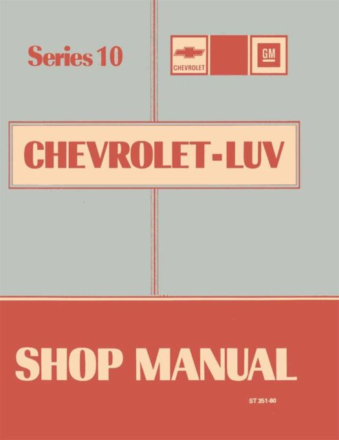 Bishko Oem Repair Maintenance Shop Manual Bound For Chevy