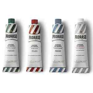 30cafb05bc4b 4 Tube Selection Pack - Proraso shaving cream green blue red white ...