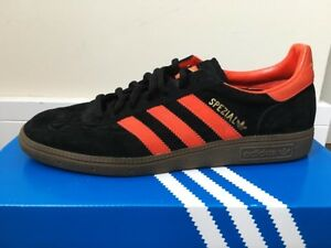 Image is loading RARE-Adidas-Spezial-Black-amp-Collegiate-Orange 8462bd8f92