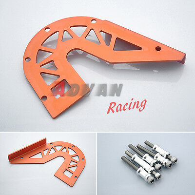 Orange Front Guard Chain Cover For KTM DUKE 125 200 2012-2013