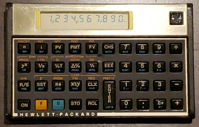 Hewlett Packard HP12C Financial Calculator