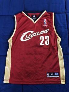 9f33af822 A imagem está carregando Reebok-Cleveland-Cavaliers-Lebron-James -Jersey-Kids-Tamanho-