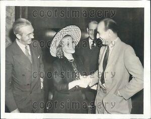 Image Is Loading 1939 Radio Singer Jessica Dragonette NBC President Lenox