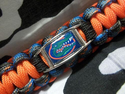 sec NCAA environ 99.79 kg Paracord Porte-clés avec mousqueton 220 lb environ 249.48 kg University of Florida Gators 550 LB