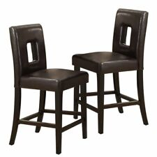 Swell Frontgate Manchester Counter Height Leather Barstools Stools Pdpeps Interior Chair Design Pdpepsorg