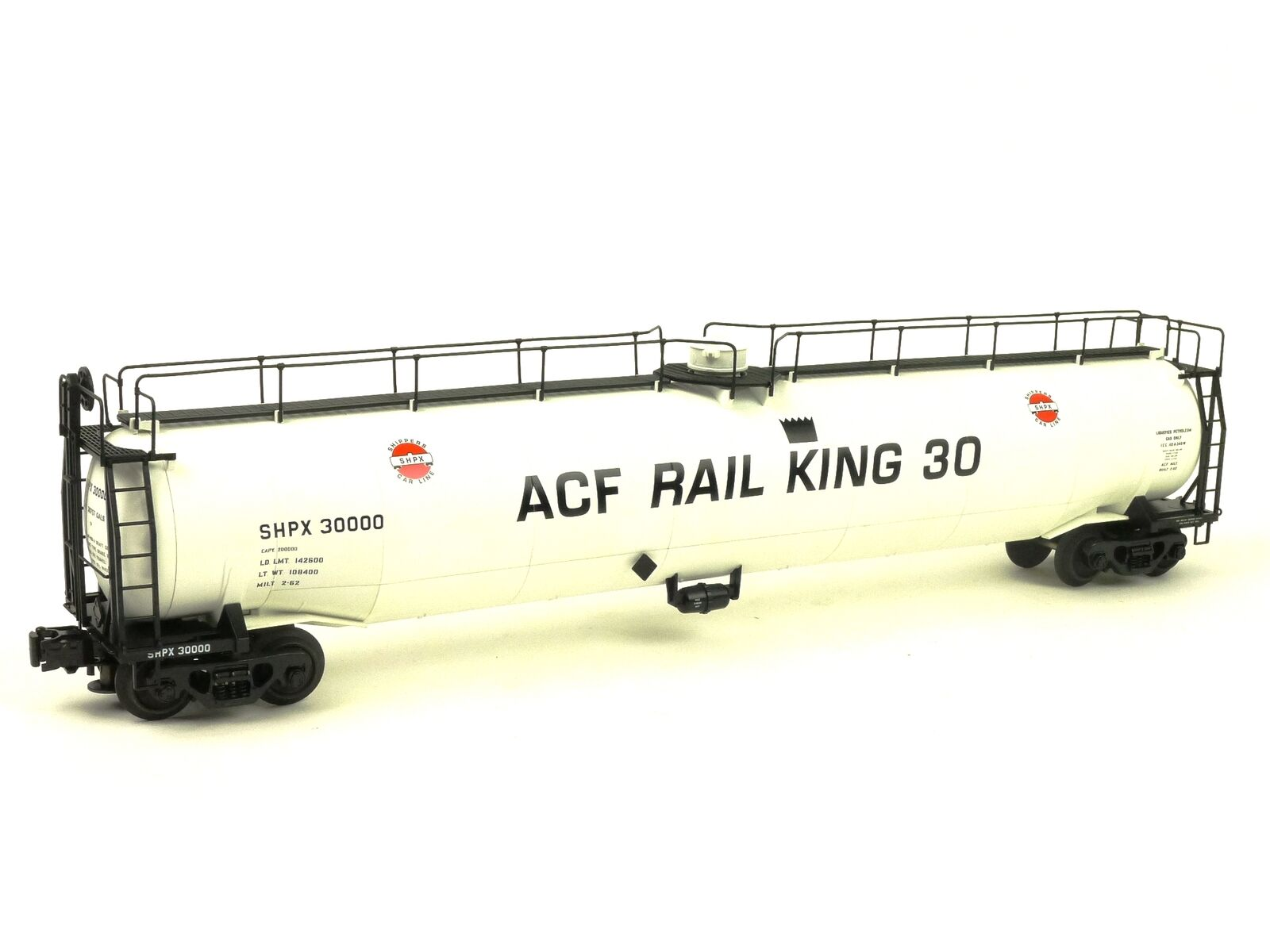 Atlas Big O 6408-2 ACF Rail King 30 ACF 33,000 Gallon Tank Car O Scale Railroads