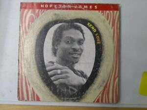 Hopeton-James-Send-Love-Vinyl-LP-1988-REGGAE-DANCEHALL