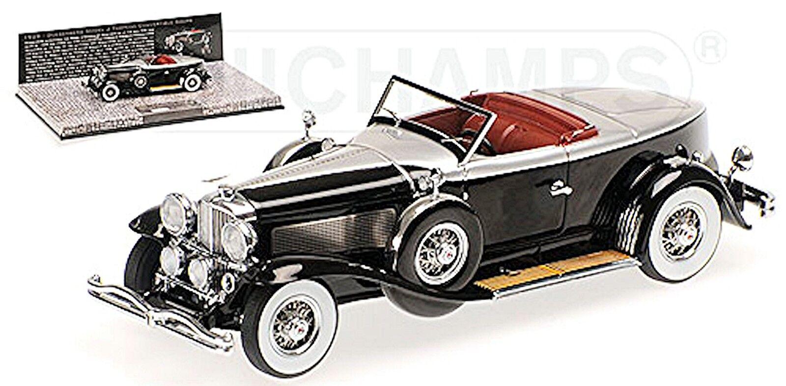 precios mas baratos Duesenberg modelo j torpedo converdeible coupe 1929 negro plata 1 1 1 43 Minichamps  el más barato