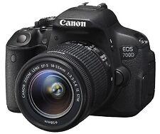Canon EOS 700D + EF-S 18-55mm f/3.5-5.6 IS STM  DSLR Camera T5i Kiss X7i ~ NEW