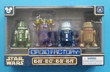 Star Wars Disney Episode VIII Last Jedi Droid Factory Set of 4 Droids 2017
