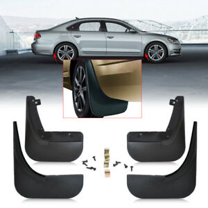 Mudflaps Car Fender For Volkswagen VW Passat B5 B5.5 2004~1998 Mud Flaps Guard Splash Flap Mudguards Accessories 2003 2002 2000 1998 Color : Black