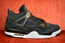 5a6cc5d907fa53 item 1 CLEAN Nike Air Jordan 4 Retro Royalty IV Size 10 Black Gold 308497- 032 -CLEAN Nike Air Jordan 4 Retro Royalty IV Size 10 Black Gold 308497-032