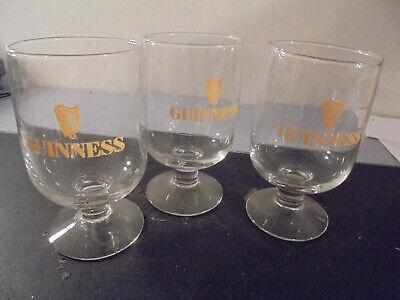3 Verres Guinness