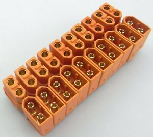 NEW-10-par-XT60-Hombre-y-Hembra-Bala-Conectores-Enchufes-para-RC-Lipo-Bateria-U