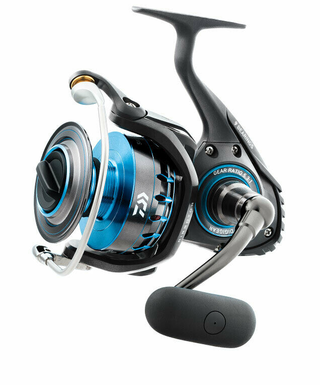NEW Daiwa Saltist 8000 9BB 5.3 1 Saltwater Spinning Fishing Reel DSALTIST8000