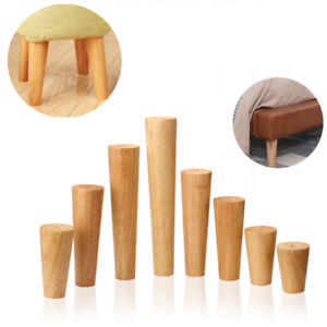 1-4Pcs-Wooden-Furniture-Legs-Replacement-Feet-For-Sofa-Table-Chair-Footstool