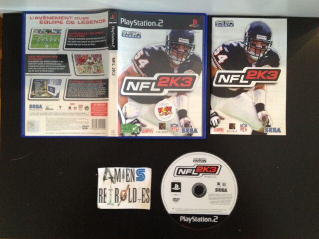 NFL 2K3 Football Américain SONY PS2 PAL FR Playstation
