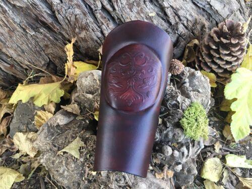 Tir à L'Arc Bracer/Arm Guard Handmade USA, forêt Crest Design livraison gratuite